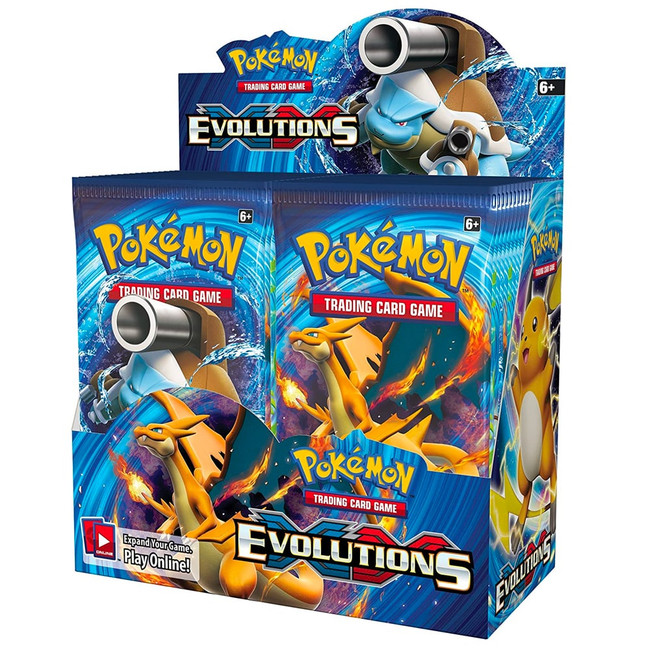 Pokemon Evolutions Booster Box (36 Packs)