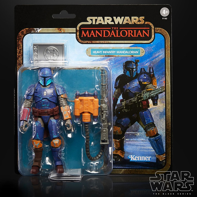Black Series 6-inch Mandalorian Credit Collection: Heavy Infantry Mandalorian