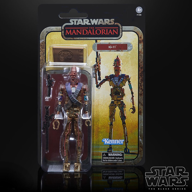 Black Series 6-inch Mandalorian Credit Collection: IG-11