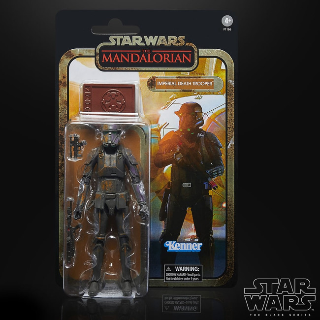 Black Series 6-inch Mandalorian Credit Collection: Imperial Death Trooper