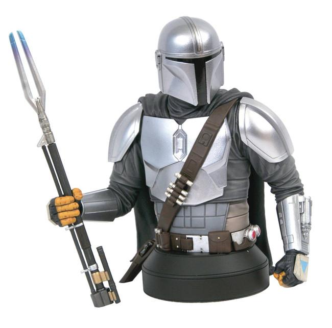 The Mandalorian Beskar Armor Mini Bust (SDCC Exclusive)