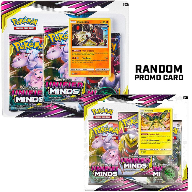 Pokemon Unified Minds 3-Pack Booster Blister