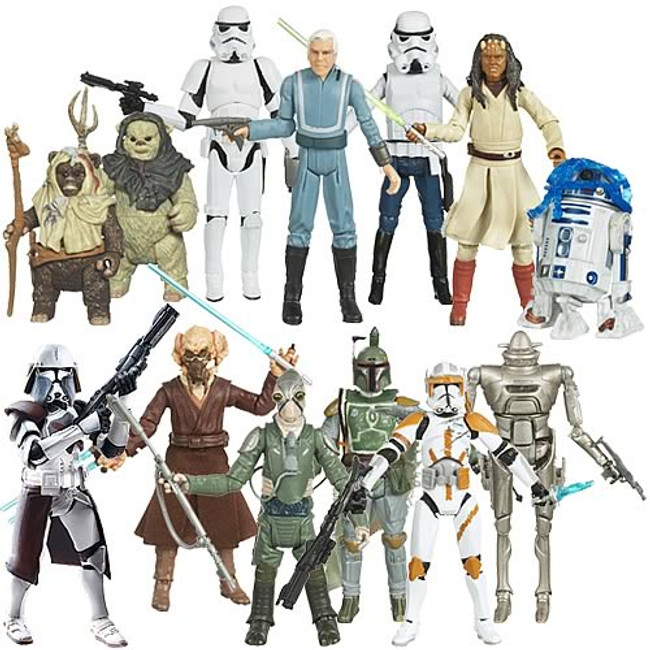 Star Wars 2009 Legacy Collection Wave 11 (W5R1) Case of 12 Figures