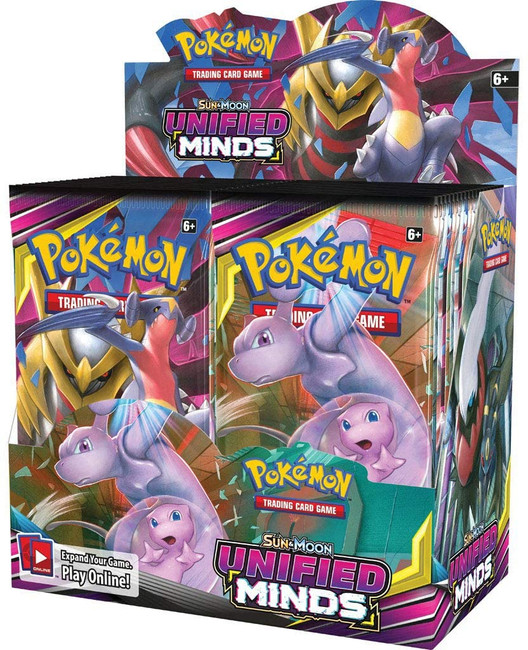 Pokemon Unified Minds Booster Box (36 Packs)