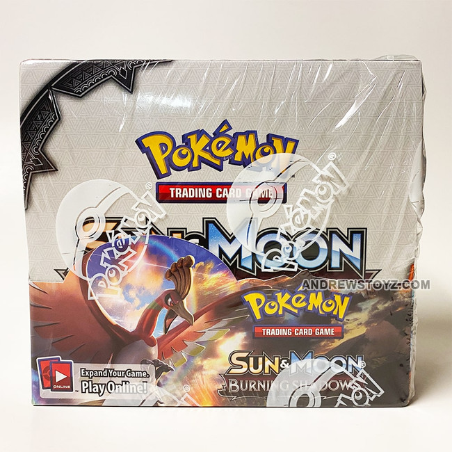 Pokemon Burning Shadows Booster Box (36 Packs)