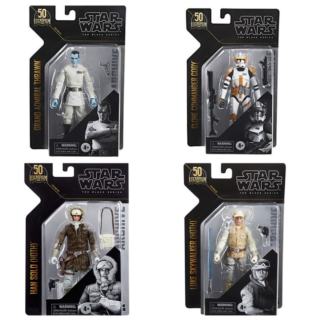 Black Series 6-inch Archive Collection Wave 3 Set of 4