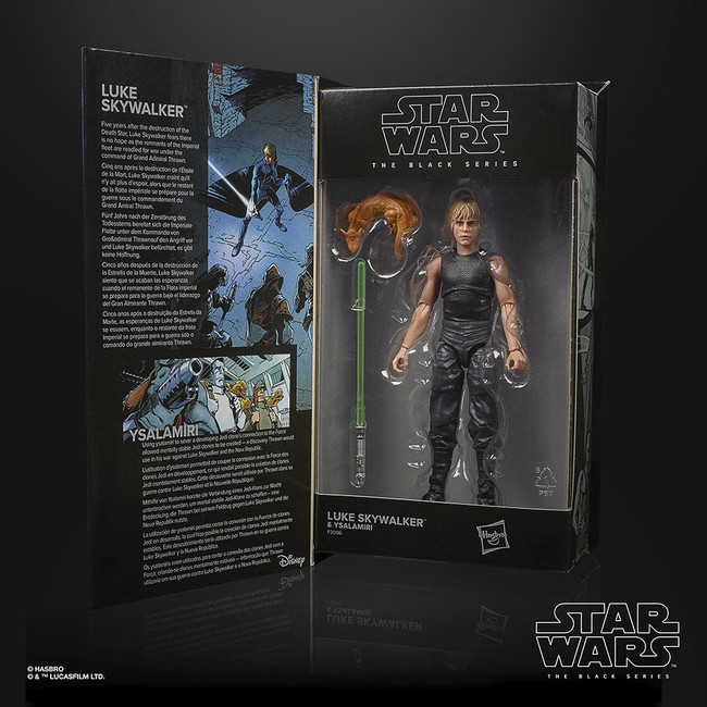 Black Series 6-inch Star Wars Legends Luke Skywalker (Heir to the Empire)