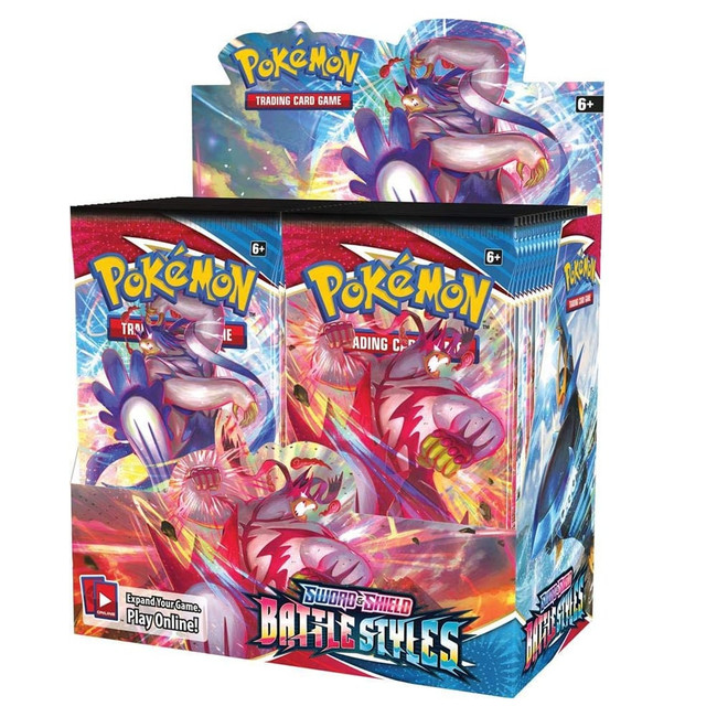 Pokemon Battle Styles Booster Box (36 Packs)