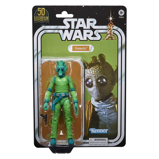 Black Series 6-inch Lucasfilm 50th Anniversary Greedo Vintage Style
