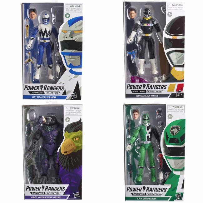 Power Rangers Lightning Collection Wave 9 Set of 4 Figures