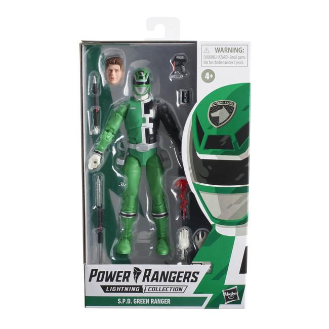 Power Rangers Lightning Collection 6-inch SPD Green Ranger