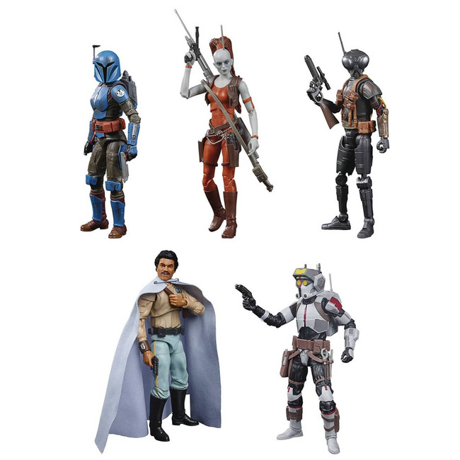 Black Series 6-inch Wave 40 Case of 8 Figures