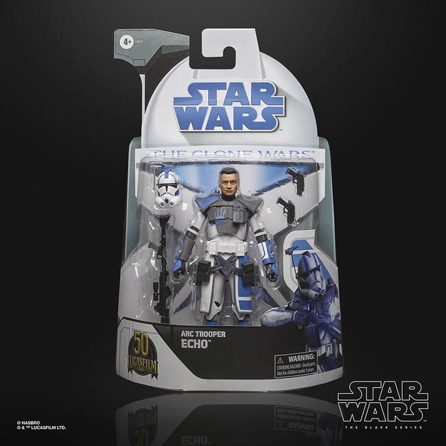 Black Series 6-inch Lucasfilm 50th Anniversary Clone Wars ARC Trooper Echo