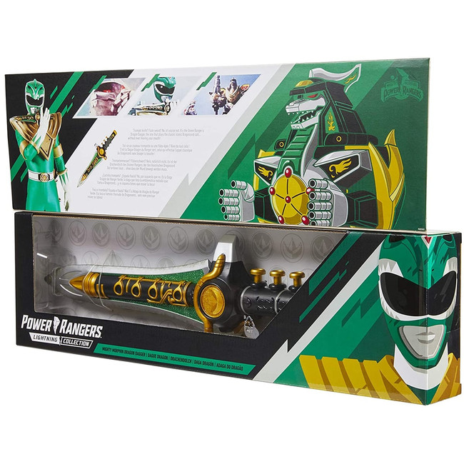Power Rangers Lightning Collection Dragon Dagger (Damaged Box)
