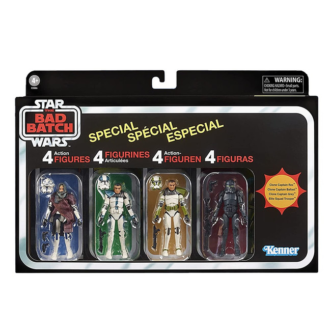The Vintage Collection The Bad Batch Special Figure Set of 4