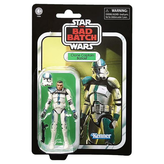 The Vintage Collection Clone Captain Ballast (The Bad Batch)