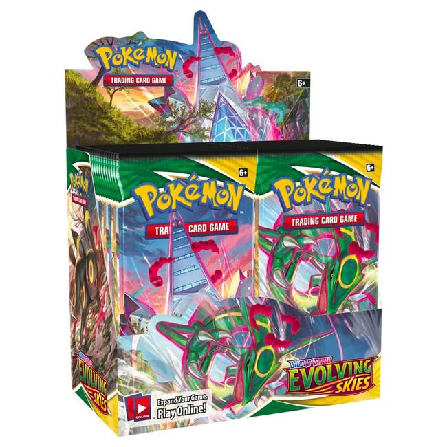 Pokemon Evolving Skies Booster Box (36 Packs)