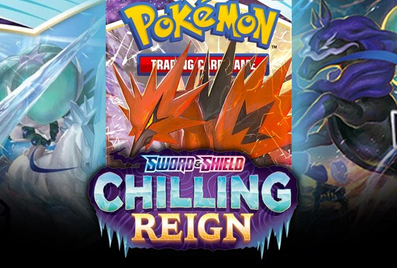 Pokemon Chilling Reign Expansion