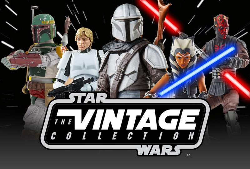 Star Wars The Vintage Collection 3.75 inch figures