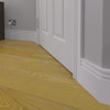 Stylish MDF Skirting Board Installed - 150mm x 18mm HDF