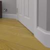 Tudor Rose MDF Skirting Board Installed - 150mm x 18mm HDF