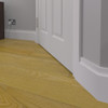 Wave 3 MDF Skirting Board Installed - 150mm x 18mm HDF