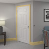 Victorian 2 Pine Skirting Board Room Shot - 150mm x 21mm