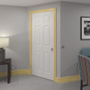 Grooved 2 Bullnose Pine Architrave Room Shot - 69mm x 21mm