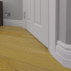 Warwick MDF Skirting Board Fitted - 150mm x 25mm HDF