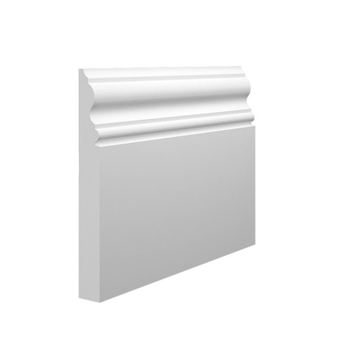 330 MDF Skirting Board in 145mm x 18mm HDF