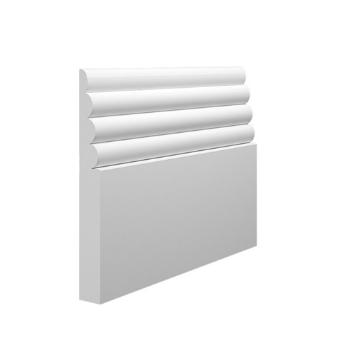 Cloud MDF Skirting Board - 145mm x 18mm HDF