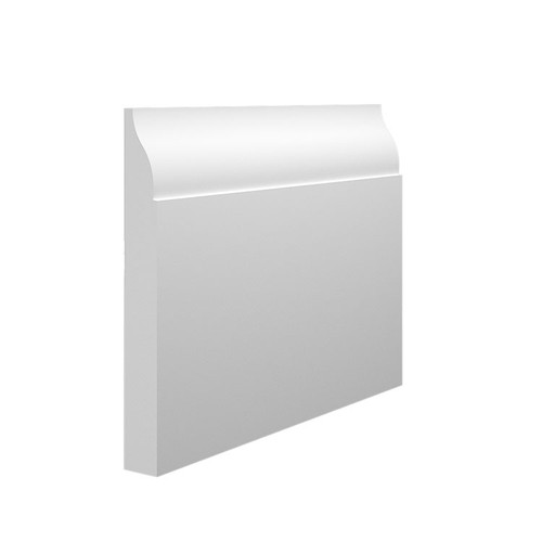 Lambs Tongue 2 MDF Skirting Board - 145mm x 18mm HDF