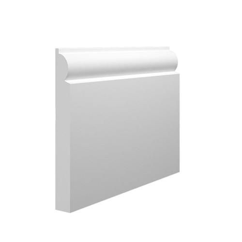 Mini Torus MDF Skirting Board - 145mm x 18mm HDF