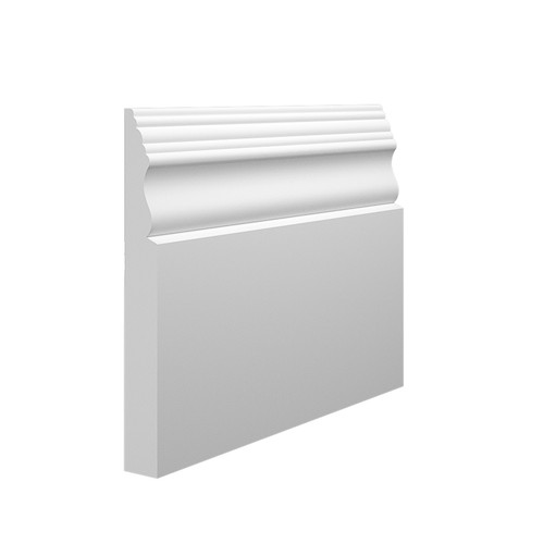 Victorian 2 MDF Skirting Board in 18mm HDF