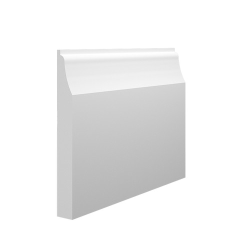 Wave 1 MDF Skirting Board in 18mm HDF