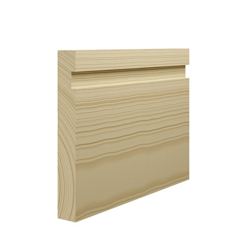 15mm Grooved Pine Skirting Board in 21mm Thickness