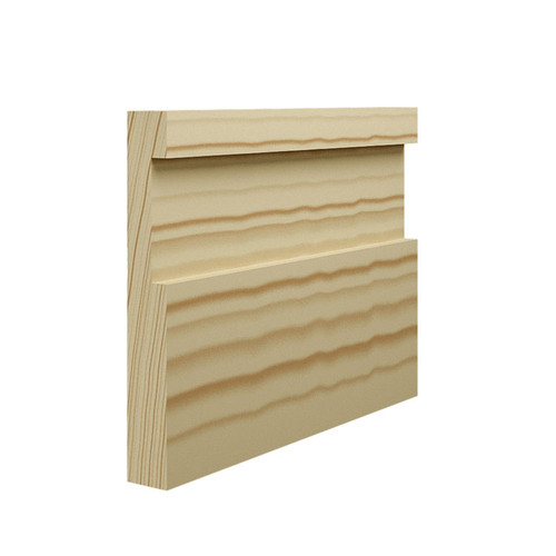 Abbey Pine Skirting Board - 144mm x 21mm