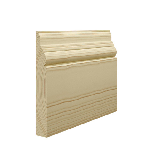 Antique 1 Pine Skirting Board - 144mm x 21mm
