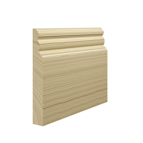 Edwardian Pine Skirting Board - 144mm x 21mm