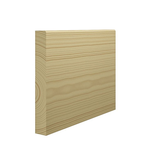 Mini Bullnose Pine Skirting Board - 144mm x 21mm
