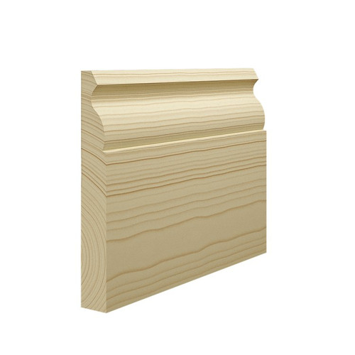 Ogee 1 Pine Skirting Board - 144mm x 21mm