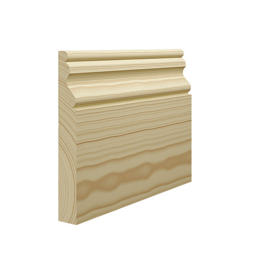 Ogee 2 Pine Skirting Board - 144mm x 21mm