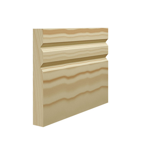 Queen Pine Skirting Board - 144mm x 21mm