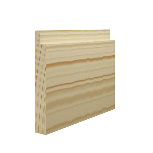 Rebated Pine Skirting Board - 144mm x 21mm