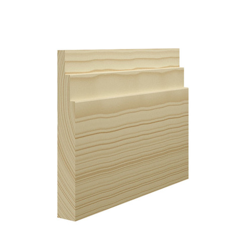Stepped 2 Pine Skirting Board - 144mm x 21mm