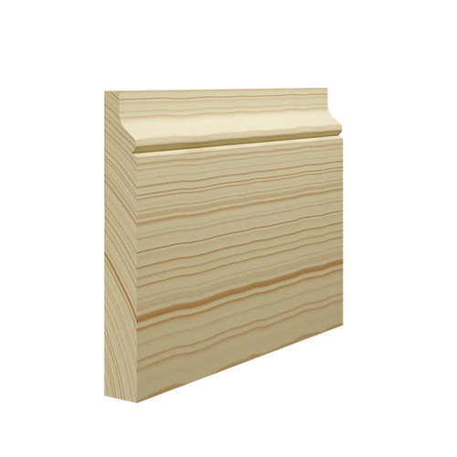 Tudor Rose Pine Skirting Board in 21mm Thickness