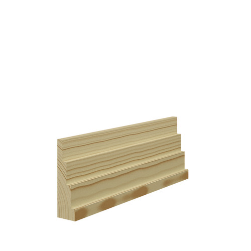 Stepped 4 Pine Architrave in 21mm Thickness