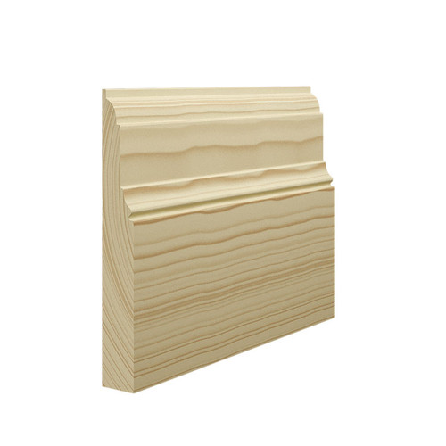 Antique 3 Pine Skirting Board - 144mm x 21mm