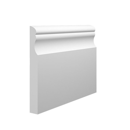 Classic MDF Skirting Board Sample - 145mm x 18mm HDF