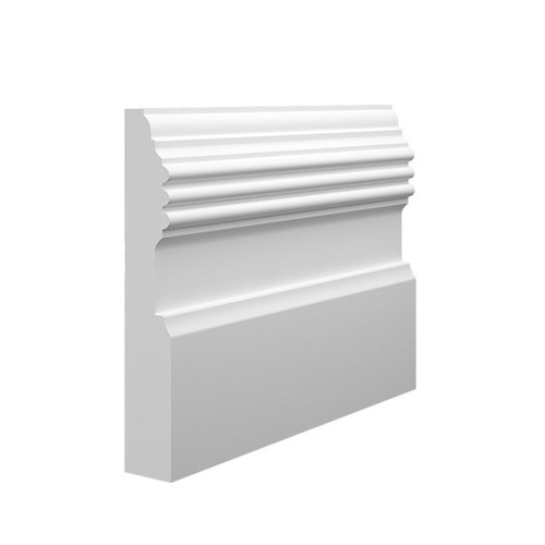 Frontier MDF Skirting Board Sample - 145mm x 25mm HDF